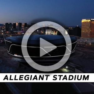 Allegiant Stadium Video Image