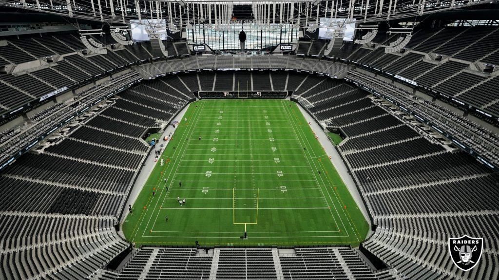 Allegiant stadium interior