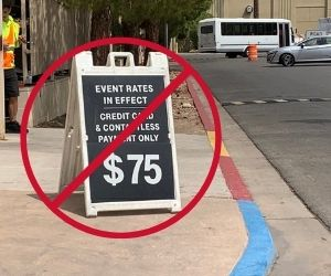 how to get free parking at Raiders games in Las Vegas
