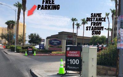 How To Get FREE PARKING At Allegiant Stadium