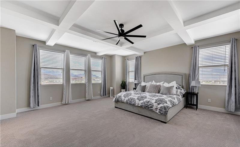 elegant primary bedroom
